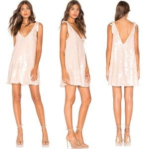 NEW Free People Penelope Mini Dress Sequins Size M